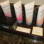 Full size toiletries from the On Site Spa