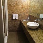 Standard room bathroom!
