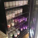 Refrigerator selections...