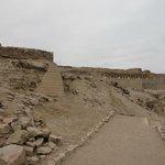 paisagem do sítio arqueológico