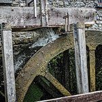 Water wheel at Skerries Mill