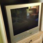 Old box TV.