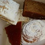 With cheese cake, guava pastries, carrot cake and more - still less than $5.