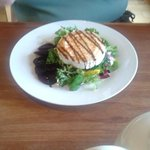 Grilled Goats cheese and salad