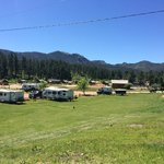 Just a small section of the campgrounds