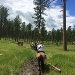 Fun trail ride
