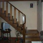 escalier pour chambere au 2e