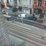 Showing tram stop