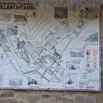 Mapa do lugar.