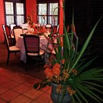 Flowers and Decorations at Maison Martinique Restaurant 1