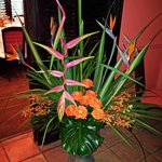 Flowers and Decorations at Maison Martinique Restaurant 2