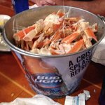 We put away some crab legs and they were awesome!