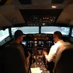 Inside the Boeing 737 Flight Simulator...