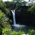 Rainbow Falls, Isla Grande. Hawaii