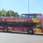 Vista do ônibus