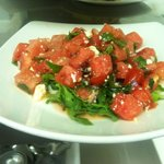 My Yaya's inspired watermelon salad