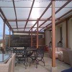 Bar area patio