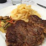 Steak mit hausgemachten Pommes Frites!!