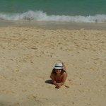 пляж возле отеля Карон