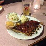 JimEddies, Keene,NH.  Ribs just fall off the bone.  Great food,great service, family run with ve