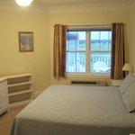 Bedroom-king bed rear