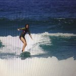 Nice's surfing