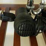 dirty hair dryer