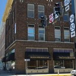 The Hub Coffee House & Cafe is located on the corner of Main and 3rd Street.