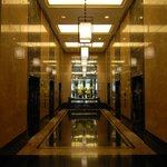 O corredor do Hotel
