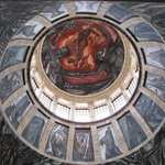 The dome - with a mural by Jose Clemente Orozco