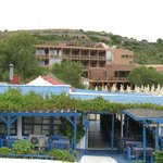 View of the hotel from Elias taverna