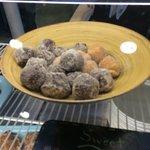Fabulous muffin donuts.