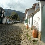 Historical street view from the Posada