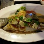 Lemon soy sauce steam fish....yummy