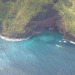 Sea cave on the Napali Coast