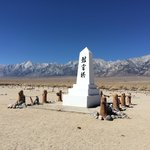 Monument, Manzanar cemetery