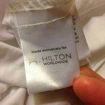 Hilton Brand linen