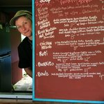 ...the smile says it all....Good food at reasonable prices.