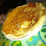 Huge WHite Chocolate Chip Pancake