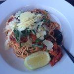 Tiger prawn spaghettini