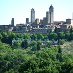 The town of San Gimignano from a different location
