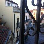 vue de la chambre 35 au petit matin