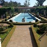 Fountain and the garden. Nice & peaceful