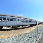 Open window railroad car