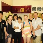 The wonderful staff at the Paradise Boutique Hotel Hanoi