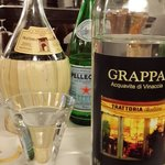 Grappa at the end...