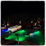 Cavo Maris. Pool. Night view