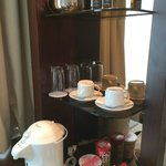 Coffee & noodle station in the room