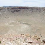 Meteor Crater, from the north rim