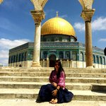 Dome of the Rock inside Temple Mount